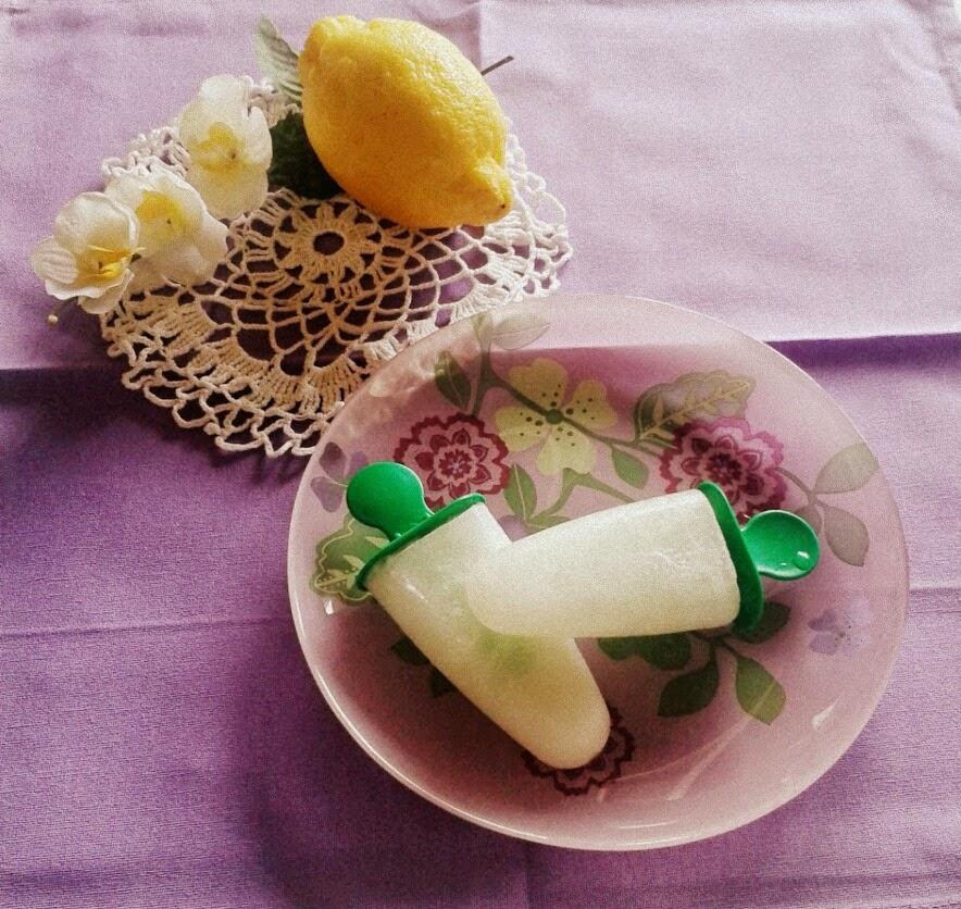 ghiaccioli lime e limone