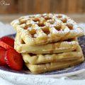 waffle senza zucchero