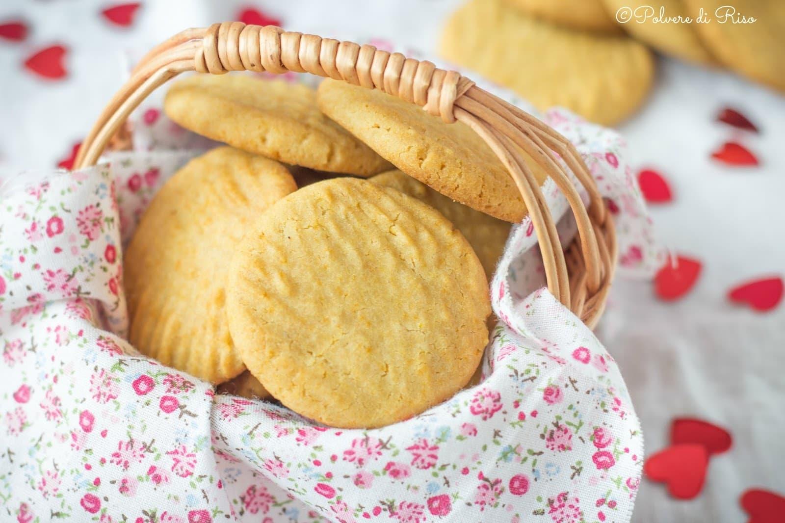 biscotti senza glutine e zucchero