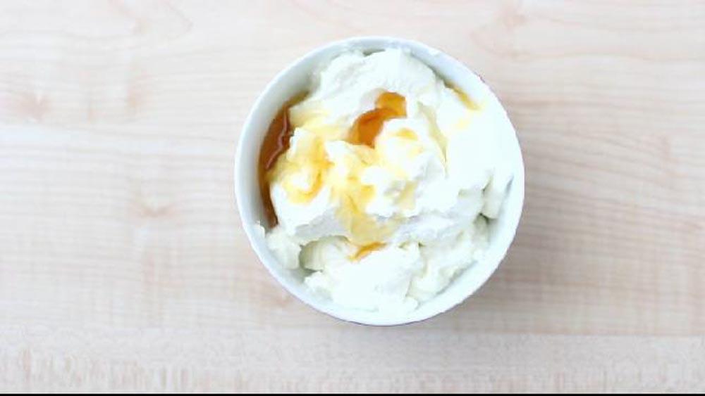 gelato allo yogurt step