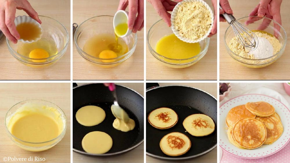pancakes proteici STEP
