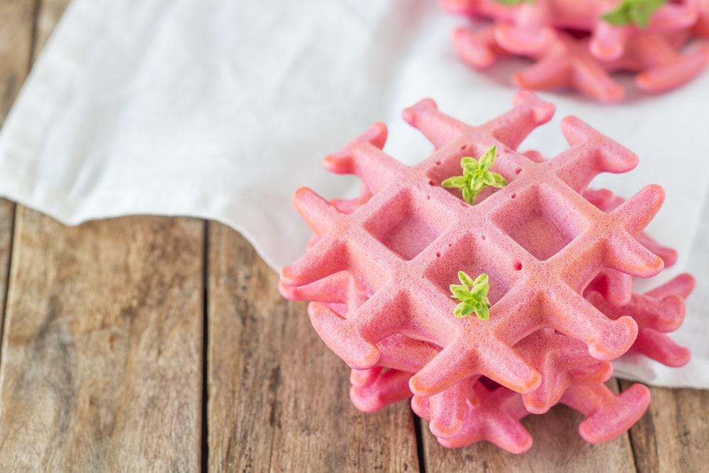 waffle rosa