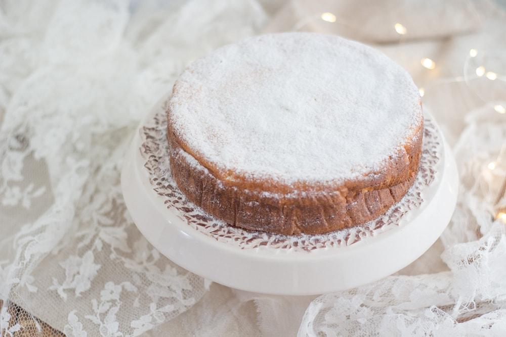 torta cremosa alla ricotta