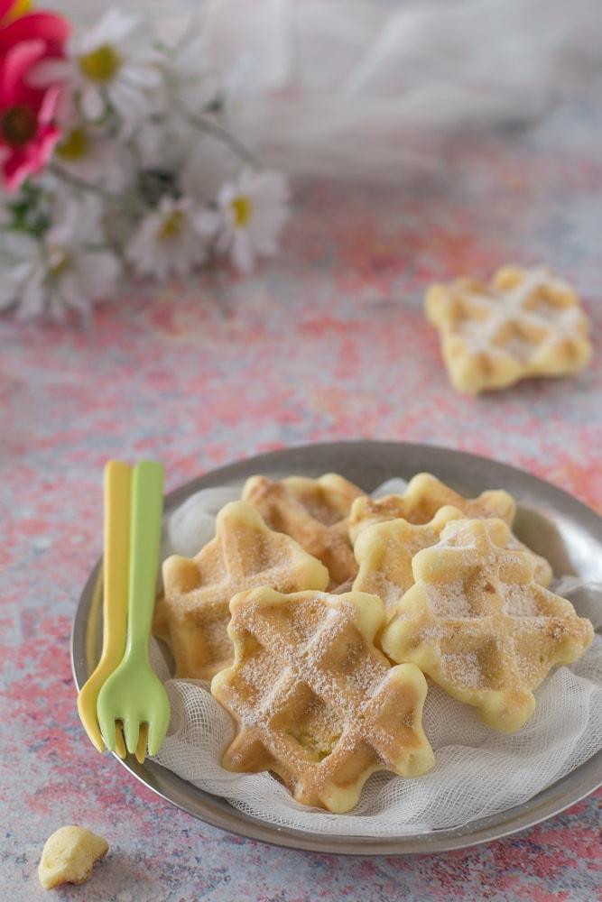 waffle fatti in casa