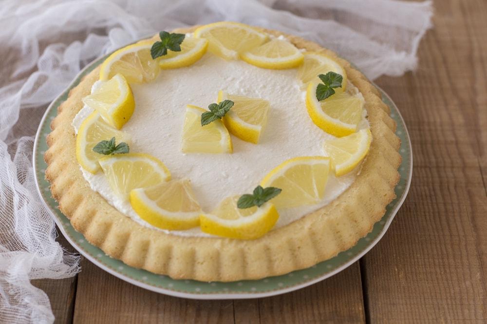 crostata limone ricotta